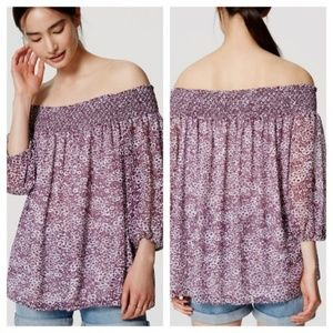 Loft Off The Shoulder Blouse